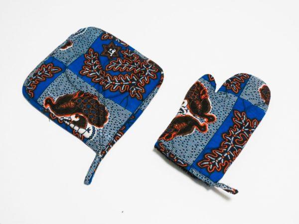 gant manique paons