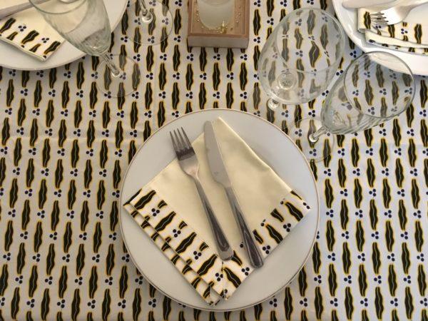 waxindeco nappe de table mon mari est capable